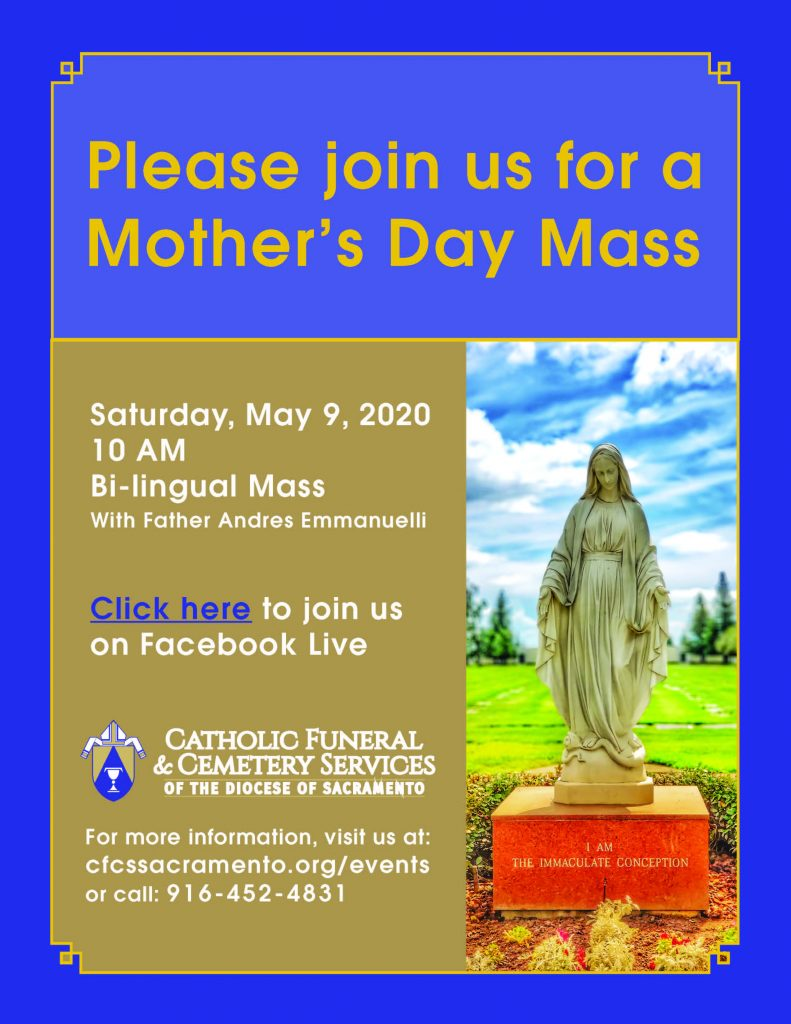 Mother's Day Mass Flyer